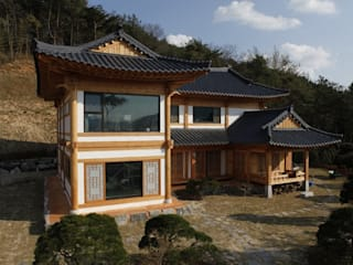 Asian style houses by Daehan Housing Asian