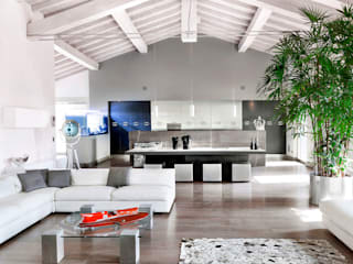 Living room by BRANDO concept, Modern