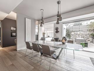 Contemporaneo Sala da pranzo moderna di BRANDO concept Moderno