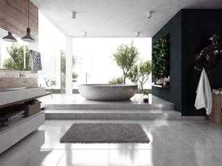 Baños minimalistas de Savainterior Minimalista