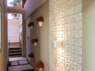 Apartamento no cond Barra Bali,  Barra de São Miguel Al: Jardins  por Cris Nunes Arquiteta,Clássico
