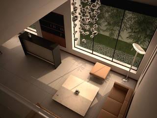 Casa Lázaro DAR Arquitectos Salones minimalistas