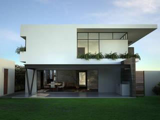 Casa Lázaro DAR Arquitectos Casas minimalistas