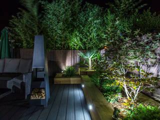 Garden Deck: modern Garden by Jane Thomas Landscape & Garden Design