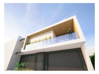 Departamentos Valencia: Casas de estilo minimalista por DAR Arquitectos