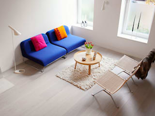 Salas de estilo  por Sarah Jefferys Design