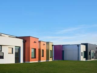 Pôle de santé à Lessay , Manche Hôpitaux minimalistes par Camélia Alex-Letenneur Architecture Design Paysage Minimaliste