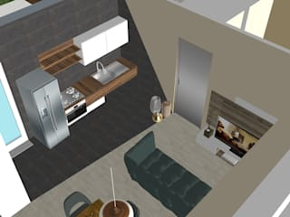 modern  by T_C_Interior_Design___, Modern
