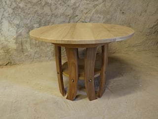 Table basse ronde. par Le Meuble Autrement Moderne