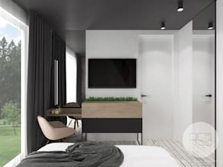 Modern style bedroom by ASA studio Modern