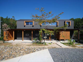 Дома в стиле минимализм от 神谷建築スタジオ Минимализм