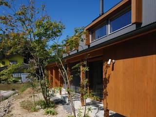 Casas minimalistas de 神谷建築スタジオ Minimalista