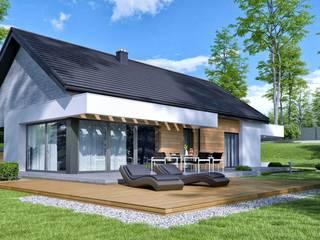 Дома в . Автор – HomeKONCEPT | Projekty Domów Nowoczesnych