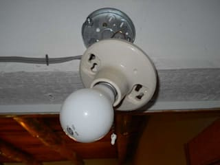 Installing Lights:   by Electrician Johannesburg