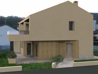 Casa SM: Case in stile  di MZ Studio Architettura Ingegneria