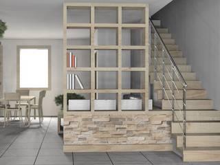 Interni VL: Ingresso & Corridoio in stile  di MZ Studio Architettura Ingegneria