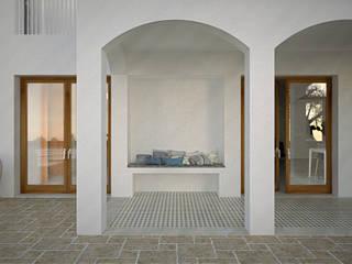 Mediterranean style houses by Oficina Urbana Mediterranean