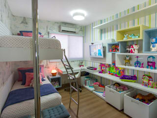 Детские комнаты в . Автор – Cris Nunes Arquiteta,