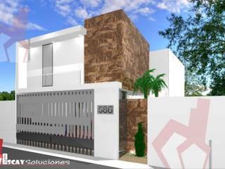 CASA MAKULIS 586 Casas modernas de Escay Soluciones Moderno