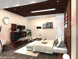 CASA MAKULIS 586 Dormitorios modernos de Escay Soluciones Moderno