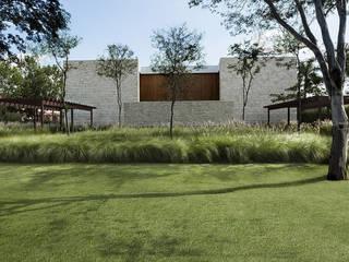 Jardin réalisé autour de l´harmonie, nature et habitat Moderner Garten von Ecologic City Garden - Paul Marie Creation Modern
