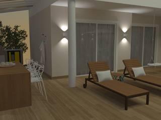 by Carolina Mendonça Projetos de Arquitetura e Interiores LTDA Modern