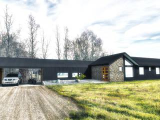 من NidoSur Arquitectos - Valdivia حداثي