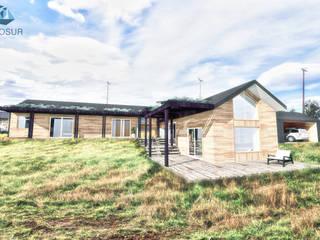Diseño de Casa 3N en Valdivia por NidoSur Arquitectos de NidoSur Arquitectos - Valdivia Moderno