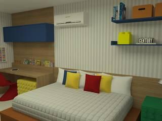 Детская комната в стиле модерн от Carolina Mendonça Projetos de Arquitetura e Interiores LTDA Модерн
