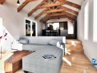 NidoSur Arquitectos - Valdivia Вітальня
