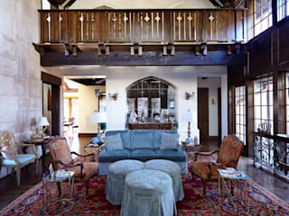 Jeffrey Dungan Architects Salon rural Bois Beige