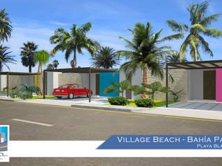 Tropical style houses by Constructora Asvial - Desarrollador Inmobiliario Tropical