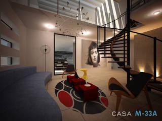 Salas de estilo moderno de Constructora Asvial - Desarrollador Inmobiliario Moderno