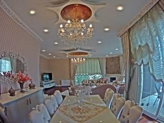 Modern Villa Modern Yemek Odası Damla SABUNCU Modern
