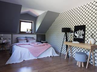 SYPIALNIA Nowoczesna sypialnia od Toto Design Nowoczesny