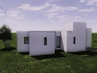 Casa Fys Casas modernas: Ideas, imágenes y decoración de En obra arquitectos Moderno