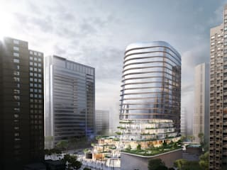 Gemdale Changshou Road:  Commercial Spaces by Aedas