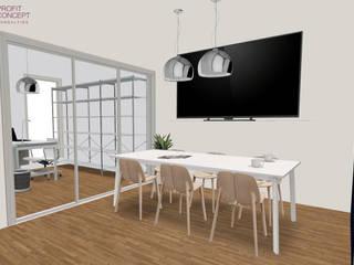 Biuro - Poznań, Grunwald Profit Concept Consulting Przestrzenie biurowe i magazynowe Drewno Biały