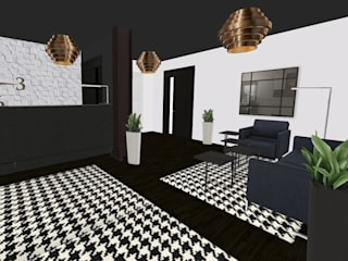 Lobby - Aparthotel - Poznań, Stare Miasto od Profit Concept Consulting Nowoczesny