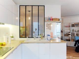 Projekty,  Kuchnia zaprojektowane przez Belle Ville Atelier d'Architecture