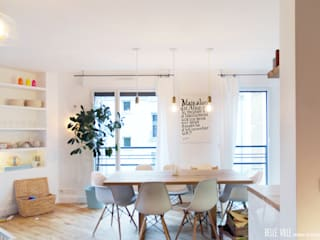 salon Salle à manger scandinave par Belle Ville Atelier d'Architecture Scandinave