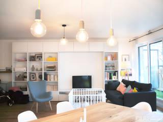 salon Belle Ville Atelier d'Architecture Salon scandinave