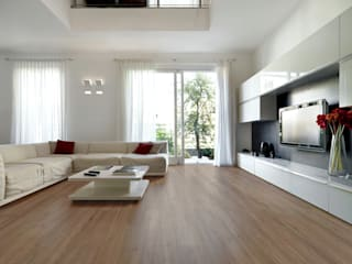Modern Living Room by VIER ABINET S.A. Pisos & Decks Modern