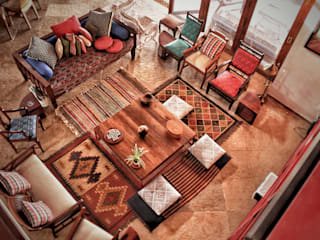 Butterfly Fields Rustic style living room by Nuvo Designs Rustic