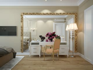 apartments in Moscow: modern Bedroom by design studio by Mariya Rubleva