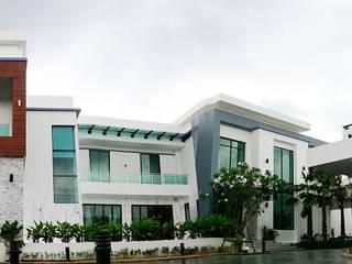 ผลงานสร้างบ้านพักอาศัย 2 ชั้น Modern1 Style by KL-Cons. โดย บริษัท เค.แอล.คอนสตรัคชั่น แอนด์ ซัพพลาย จำกัด โมเดิร์น