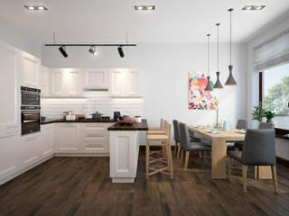 Rubleva Design Scandinavian style dining room