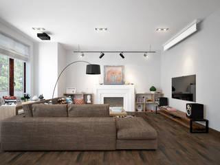 Rubleva Design Scandinavian style living room