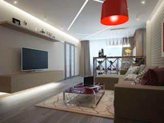 Modern living room by Rubleva Design Modern