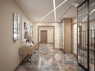 Modern Koridor, Hol & Merdivenler Rubleva Design Modern